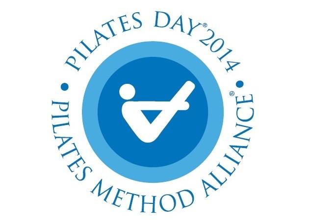 logo pilates day,